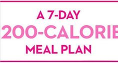 Part of slimming down involves a simple, sensible exercise and eating plan. Here's a week-long menu for our Lose 20 Pounds Fast Diet program: Over the next 90 days you should aim to consume 1,200