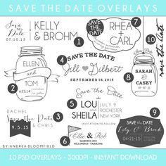 Best Photography EngagementSave The Dates Images On Pinterest - Free save the date templates photoshop