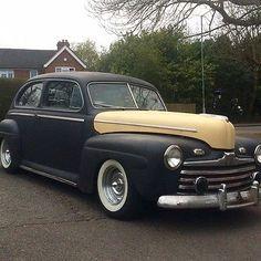 eBay: 1946 Ford Tudor Sedan Hot Rod Custom Project Chevy V8 Street Rod Rat Rod Kustom http://rssdata.net/LFC7jp #classiccars #cars