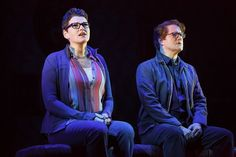 http://triangleartsandentertainment.org/wp-content/uploads/2016/10/10FunHomeTour0153r.jpg - 2015 Best Musical Tony® Winner Fun Home Is Drawn from Life: Cartoonist Alison Bechdel's Life - Robert Petkoff and Kate Shindle star as Bruce and Alison Bechdel (photo by Joan Marcus) 2015 Best Musical Tony Award® winner Fun Home, which opens tonight at 7:30 p.m. at the Durham Performing Arts Center and runs through Sunday, is Drawn from Life: Beech Creek, PA-born lesbian cartooni