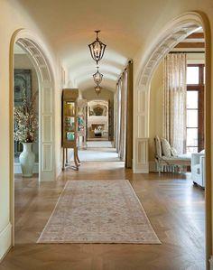 parquet floor, nice room entrances  by Mark Molthan