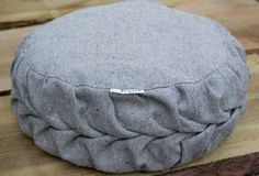 Meditation cushion recycled organic hemp/ cotton, eco friendly - 64 Euros ships from Netherlands