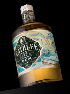Golden Barrel Aged Run, Packaging Design by Stranger and Stranger - World Brand Design Society Juice Packaging, Beverage Packaging, Bottle Packaging, Brand Packaging, Candle Packaging, Design Packaging, Cosmetic Packaging, Product Packaging, Alcohol Bottles