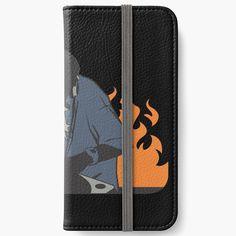 'DJ On Fire' iPhone Wallet by nicepunk Diy Wallet, Iphone Wallet Case, Iphone 6, Iphone Cases, Transparent Stickers, Dj, My Arts, Card Holder, Fire