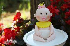 Baby girl tutorial - CakesDecor