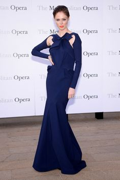 Coco Rocha in Greta Constantine Fall 2013 - Met Opera presents Eugene Onegin