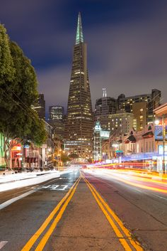 """San Francisco, California  COLUMBUS AVENUE....gottttta drive this street!  Roll down the windows and SMELL THE GARLIC!!!!!!   This is in """"Little Italy"""" part of San Francisco."""