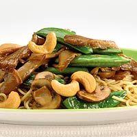 Recept - Eiermie met paddestoelen en cashewnoten - Allerhande
