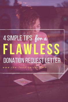 these tips for writing a donation request letter are so simple that anyone can do them