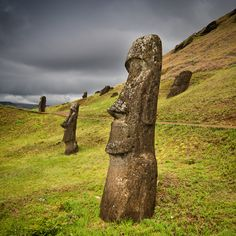 Rapa Nui (Easter Island), Chile | Photograph The Giants by Marc Princivalle on 500px
