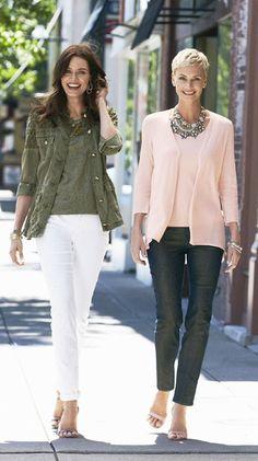 Like both outfits.