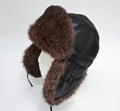 READY to SHIP Child Real Fur Hat, Aviator Hat, Ushanka, Russian Hat, Ski Hat, Rabbit Fur, Fur Hat with Ear Flaps, Warm Hat, Boy Fur Hat Faux Fur Collar, Fur Collars, Winter Wear, Winter Hats, Rabbit Fur Hat, Russian Hat, Aviator Hat, Trapper Hats, Ski Hats