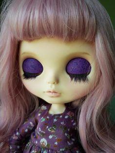 Blythe custom art doll OOAK by me Mamiko OOAK custom blythe She Is Gorgeous, Gorgeous Hair, Handmade Leather Shoes, Big Eyes, Custom Art, Blythe Dolls, Doll Toys, Fashion Dolls, Art Dolls