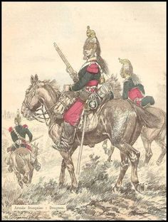 French dragoons, 1870