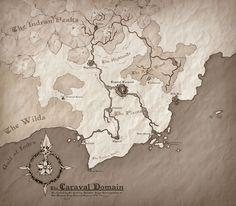 The Caraval Domain by Tekka-Croe.deviantart.com on @DeviantArt