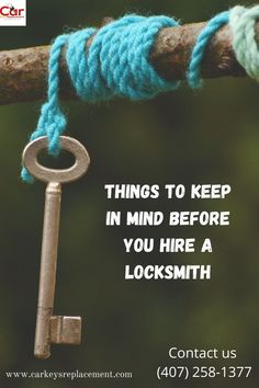 Hiring a locksmith in need appears to be a really easy choice to make. In order to make the correct decision, consider some of the criteria that the team of locksmiths will follow. Including venue, prices, expertise, and more.