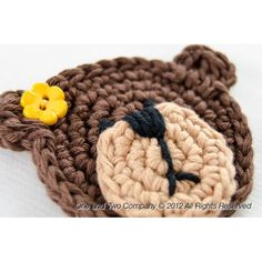 crochet bear applique | Teddy Bear Applique Crochet                                                                                                                                                                                 More