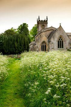St. Nicholas' parish church in Chadlington - Oxfordshire, England by howard-sherwood