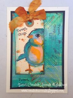 Tara's Creative Accents & Inklings: A Closer Look at Mixed Media Serendipity Notebook & Cards