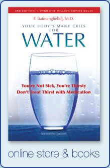 FAQ on Your Body's Many Cries for Water: How do you get dehydrated, how much water to drink, when to drink, what should/shouldn't we drink, drinking tips for healthy hydration, and more!