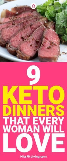 Looking for some delicious keto dinners? Here are 9 special keto dinners that offer a ton of variety while still stay low carb.