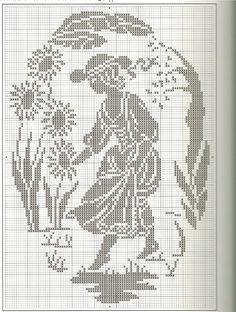 ru / Фото - Just Cross Stitch - February 2007 - Cross Stitch Samplers, Cross Stitching, Cross Stitch Embroidery, Embroidery Patterns, Just Cross Stitch, Cross Stitch Flowers, Modern Cross Stitch Patterns, Cross Stitch Designs, Stitches Wow