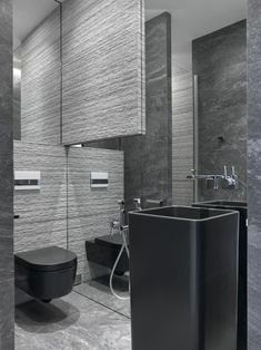 A luxury and minimalist interior design sample from Moscow. You can get inspiration from this modern apartment. Luxury Homes Interior, Luxury Home Decor, Interior Exterior, Luxury Apartments, Small Apartments, Home Room Design, Bathroom Interior Design, House Design, Modern Apartment Decor