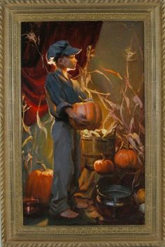 I would LOVE this painting in my home! Especially in the fall season :) By Michael Malm