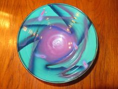 1992 Art Pottery Bowl By Natalie Warrens