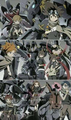 Mais novidades sobre o novo anime de Digimon 2