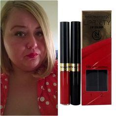 #makeup, #maxfactor, #redlipgloss, #red