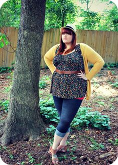 outfit of the day | The Fat Girl's Guide