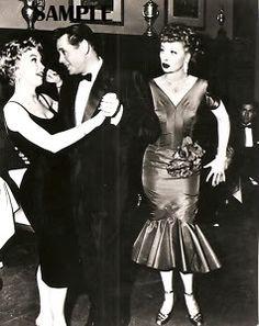"Barbara Eden, Desi Arnaz, Lucille Ball 1957 ""Country Club Dance"""
