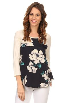 The Cara Tag Online, Floral Tops, Boutique, Women, Fashion, Moda, Top Flowers, Fashion Styles, Fashion Illustrations