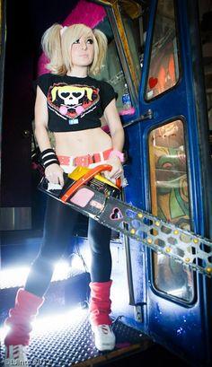 Character: Juliet Starling / From: Warner Bros. Interactive Entertainment & Kadokawa Games 'Lollipop Chainsaw' / Cosplayer: Jessica Nigri