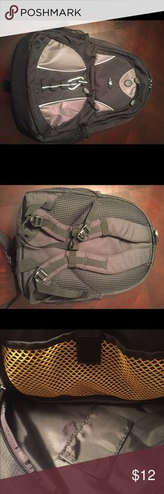 Laptop Backpack Padded laptop backpack. Navy pockets inside and out. Like new condition. Accessories Laptop Cases