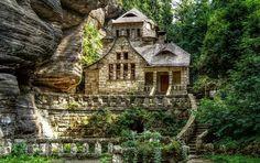 Wildly romantic House I by *pingallery, Hřensko, Czech Republic