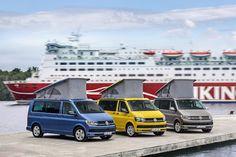 VW T6 California (v.l.): Ocean, Beach und Coast