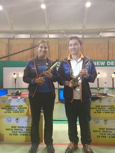 Congratulations to Jitu Rai and Heena Sidhu for winning gold medal in ISSF Shooting World Cup. We are so proud of you. #ISSFWC #Sports #Win #India #ShootingWorldCup