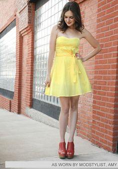 Zest is More Dress, #ModCloth