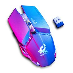(Sponsored) Wireless Gaming Mouse For PC Laptop Optical USB 7 Color Backlight Gaming Computer, Laptop Computers, Computer Mouse, Pc Mouse, Console, 4g Wireless, Games, Mice, Barbie Sets