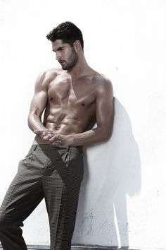 Nick Bateman. When you are so hot you can manage to wear those slacks and still look hot.