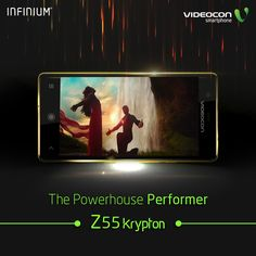 Catch all the action, adventure and entertainment with a single touch. Get all that and a lot more with ‪#‎Videocon‬ Infinium Z55 Krypton, in association with ‪#‎Dilwale