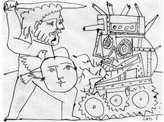 Guerre et paix, Picasso, 1951