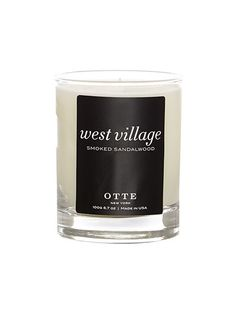 Inspired by New York City's West Village, this candle is full of autumnal vibes: There's a hint of crisp pine needles, while the base smells like just-extinguished firewood. One sniff and you can practically hear the leaves crunching beneath your feet.