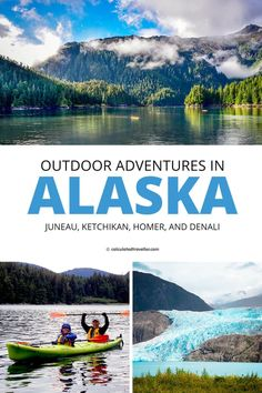 Can't decide between one adventure over another when choosing an outdoor adventure in Alaska? Here's our list of the best outdoor activities in the beautiful US State of Alaska! Alaska Adventures, Kayak Adventures, Outdoor Adventures, Adventure Tours, Adventure Travel, Tongass National Forest, Glacier Bay National Park, Travel Usa, Hawaii Travel