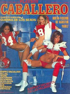 Playboy (Mexico) October 1978 with Denise Michele, Hope Olson, Lisa Sohm on the cover