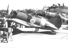 POLIKARPOV captured by the Finnish Air Force