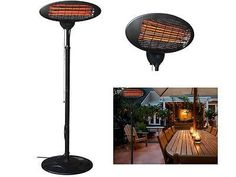 Elegant Infrared Floor Telescoping Patio Heater. RH. Have A Couple Of These In The  Outdoor Living Area, Preferably In Black. | Dream Home | Pinterest |  Patios, ...