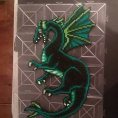 Dragon perler beads by kcpopick13